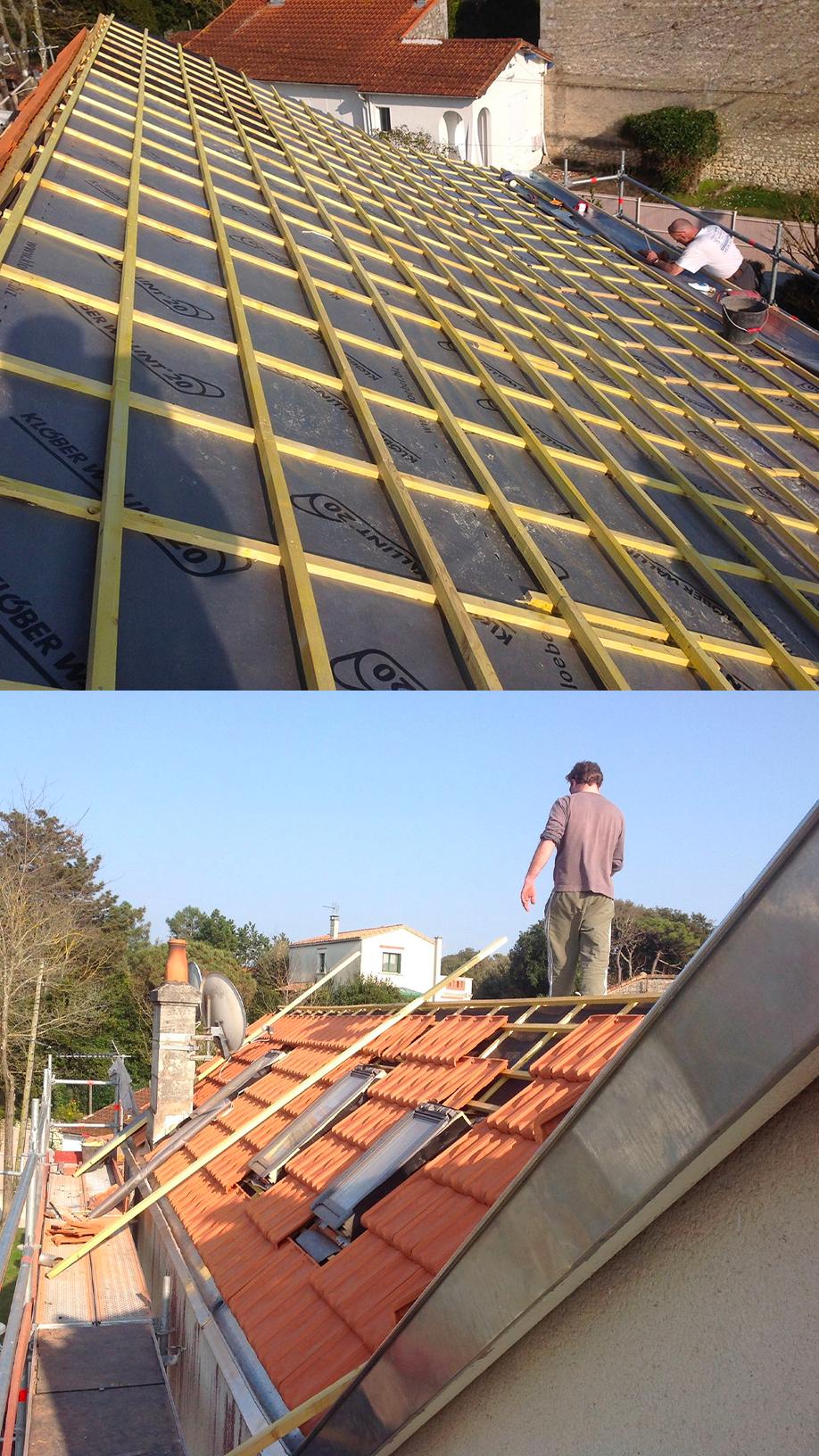 Réalisation de toiture